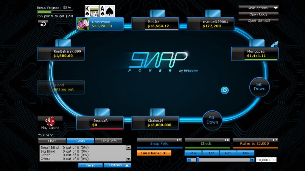 888poker Snap